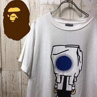 アベイシングエイプ(A BATHING APE)の【激レア】A  BATHING  APE エイプ ビックプリント Tシャツ M(Tシャツ/カットソー(半袖/袖なし))