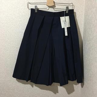 マルティニークルコント(martinique Le Conte)のマルティニーク ネイビースカート(ひざ丈スカート)