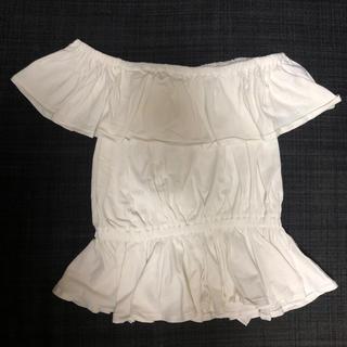 スライ(SLY)のオフショル トップス フリル スライ SLY(Tシャツ(半袖/袖なし))