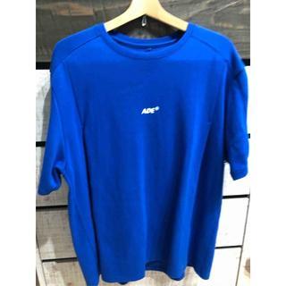MAISON KITSUNE' - Ader error Ade t-shirt Z-blue