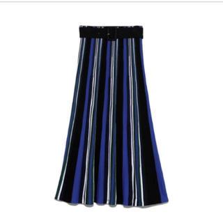 ミラオーウェン(Mila Owen)のミラオーウェン 完売パネルスカート(ロングスカート)