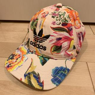 adidas - アディダス 花柄キャップ