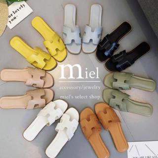 ザラ(ZARA)の《7colour》flat sandal/フラットサンダル(サンダル)