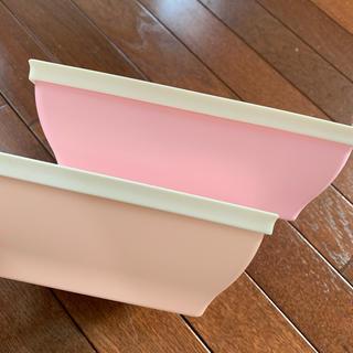 タッパーウェア  食器 容器 サラダ 惣菜 2個セット パステル(容器)