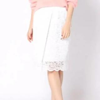 ビッキー(VICKY)の新品 ビッキー レーススカート(ひざ丈スカート)
