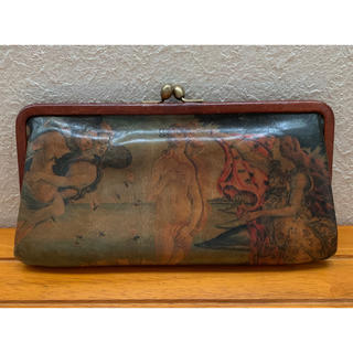 ゲンテン(genten)の【限定品】genten ゲンテン 長財布 ウフィツィ美術館 ヴィーナスの誕生(財布)