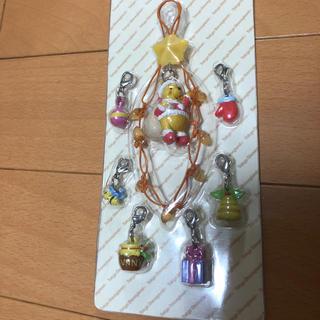 くまのプーさん - 【未開封】クリスマスプーさんストラップ