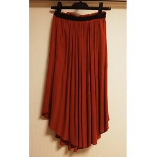 エイチアンドエム(H&M)のH&M⭐️テラコッタ  スカート(ひざ丈スカート)