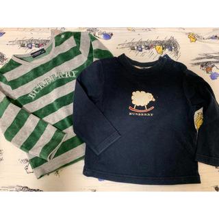 バーバリー(BURBERRY)のバーバリー トレーナー、2枚セット売り💙(Tシャツ/カットソー)