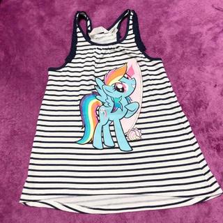 H&H - マイリトルポニー My Little Pony ボーダー ワンピース