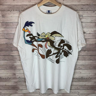 Disney - ルーニーテューンズ キャラクター プリントTシャツ メンズ
