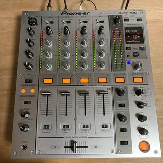 Pioneer - 【美品】Pioneer DJM700 DJミキサー シルバー