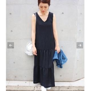 IENA - イエナ♡ランダムプリーツ タンクワンピース 36
