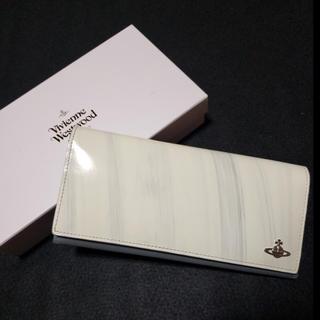 ヴィヴィアンウエストウッド(Vivienne Westwood)の新品ヴィヴィアンウエストウッドグレーホワイト長財布 ACCESSORIES(長財布)