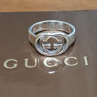 Gucci - [正規品] GUCCI インターロッキング リング 15号 指輪 鏡面研磨済