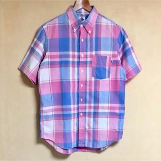 ポストオーバーオールズ(POST OVERALLS)のPOST O'ALLS / ポストオーバーオールズ チェックシャツ M 日本製(シャツ)