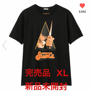 GU - GU  グラフィックTシャツ 時計仕掛けのオレンジ  XL  新品未開封