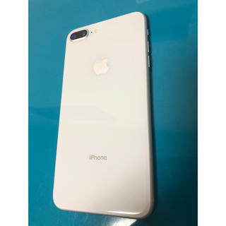 iPhone - 美品 iPhone 8 plus SIMフリー 64GB silver