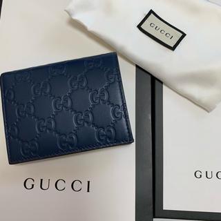 グッチ(Gucci)の★GUCCI シマ カードケース札入れ 美品 ★(名刺入れ/定期入れ)