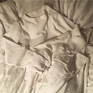 ロキエ(Lochie)のvintage  サーマル カットソー ♡  ほぼ未使用(Tシャツ(長袖/七分))
