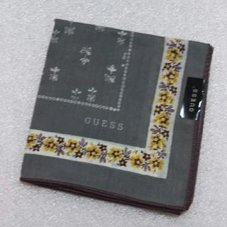 ゲス(GUESS)のGUESS☆大判ハンカチ53×53(ハンカチ)