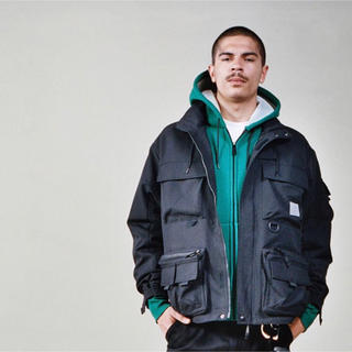 carhartt - Mサイズ 黒 carhartt wip elmwood jacket