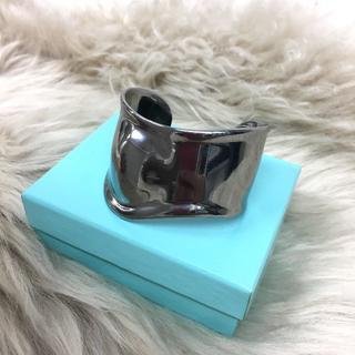 ティファニー(Tiffany & Co.)の美品 ティファニー ボーンカフ バングル (ブレスレット/バングル)
