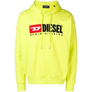ディーゼル(DIESEL)のDiesel パーカー ロゴ ライムイエロー  M ディーゼル(パーカー)