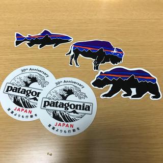 patagonia - patagonia ステッカー 5枚