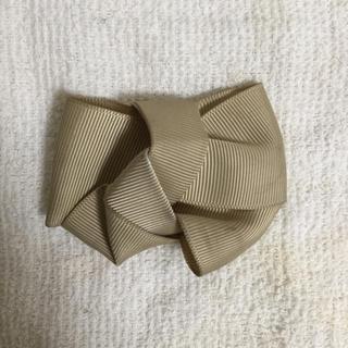 靴のリボン ベージュ(ハイヒール/パンプス)