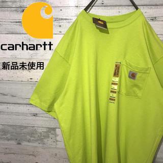 カーハート(carhartt)の【激レア】カーハート☆新品未使用 ビッグサイズ ロゴタグ ポケットTシャツ(Tシャツ/カットソー(半袖/袖なし))