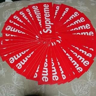 シュプリーム(Supreme)のSupreme box logo Sticker ボックスロゴ ステッカー 定番(ステッカー)