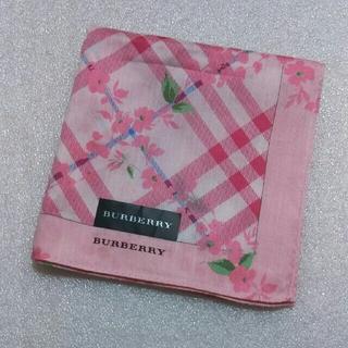 バーバリー(BURBERRY)のバーバリー☆大判ハンカチーフ58×58(バンダナ/スカーフ)