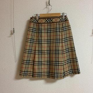 BURBERRY BLUE LABEL - バーバリー 膝丈スカート