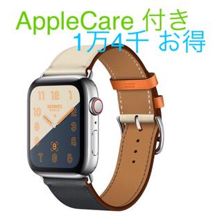 アップル(Apple)のお得 定価以下 新品 Apple Watch アップルウオッチ4 エルメス (腕時計(デジタル))
