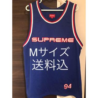 シュプリーム(Supreme)のsupreme19ss Rhinestone Basketball Jersey(タンクトップ)