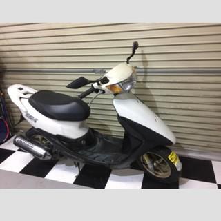 ホンダ(ホンダ)の埼玉県深谷市 ホンダ ライブディオZX 原付 スクーター 50cc バイク 白(車体)
