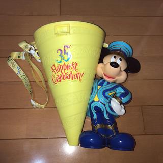 Disney - 35周年記念 ディズニーランドポップコーンバケツ