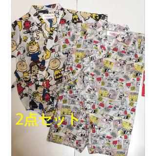 スヌーピー(SNOOPY)の38 新品タグ付き スヌーピー  甚平(甚平/浴衣)