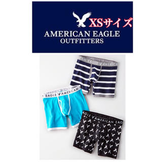 American Eagle - 【新品】XSサイズ★アメリカンイーグル★ボクサーパンツ★3枚セット