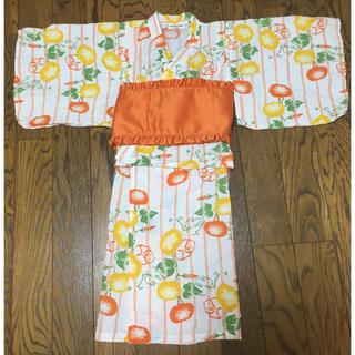 アンパサンド(ampersand)の子供 浴衣 セパレート 110(甚平/浴衣)
