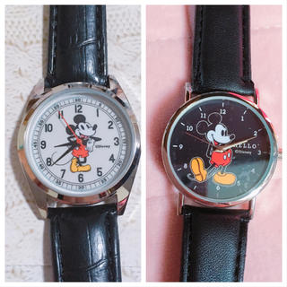 Disney - ミッキー * 腕時計 2点セット
