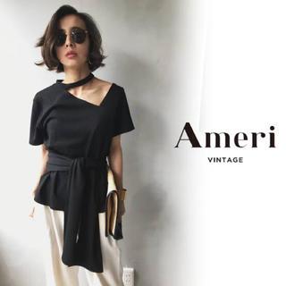 Ameri VINTAGE - ameri vintage アメリ チョーカーネックアシンメトリートップス