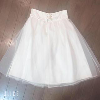 リズリサ(LIZ LISA)のタイムセール  LIZLISA  チュールスカート(ひざ丈スカート)