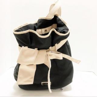 LANVIN en Bleu - ランバンオンブルー リュックサック リボン  リュック 鞄 バッグ BAG