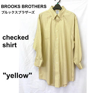 ブルックスブラザース(Brooks Brothers)の美品【 Brooks Brothers 】クリーニング済み チェックシャツ(シャツ)