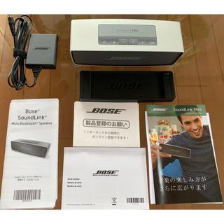 ボーズ(BOSE)のBose/ボーズ SoundLink Mini Bluetooth スピーカー(スピーカー)
