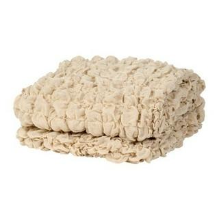 イケア(IKEA)のイケア OFELIA 毛布 オフェーリア ベージュ タオルケット ガーゼ(毛布)
