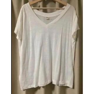 ロンハーマン(Ron Herman)のリネンTシャツ(Tシャツ(半袖/袖なし))