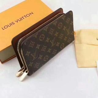 ルイヴィトン(LOUIS VUITTON)のLOUIS VUITTON ルイヴィトン モノグラム 茶色 長財布(長財布)